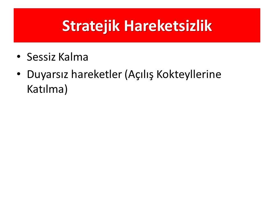 Stratejik Hareketsizlik