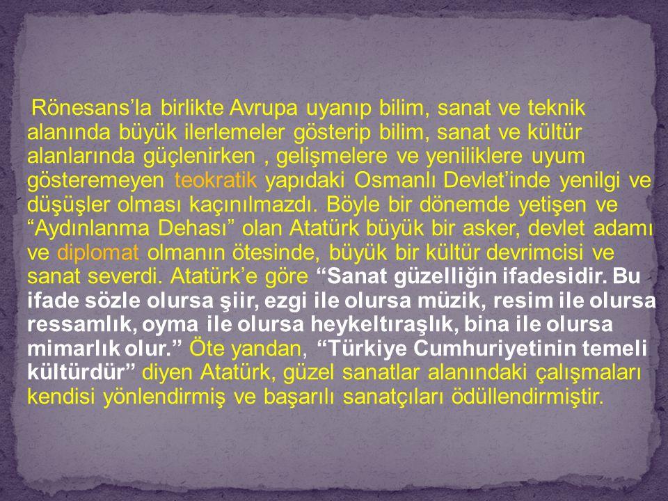 Rönesans'la birlikte Avrupa uyanıp bilim, sanat ve teknik alanında büyük ilerlemeler gösterip bilim, sanat ve kültür alanlarında güçlenirken , gelişmelere ve yeniliklere uyum gösteremeyen teokratik yapıdaki Osmanlı Devlet'inde yenilgi ve düşüşler olması kaçınılmazdı.