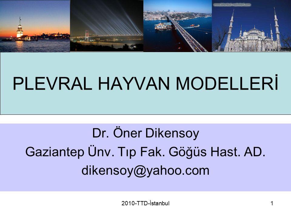 PLEVRAL HAYVAN MODELLERİ