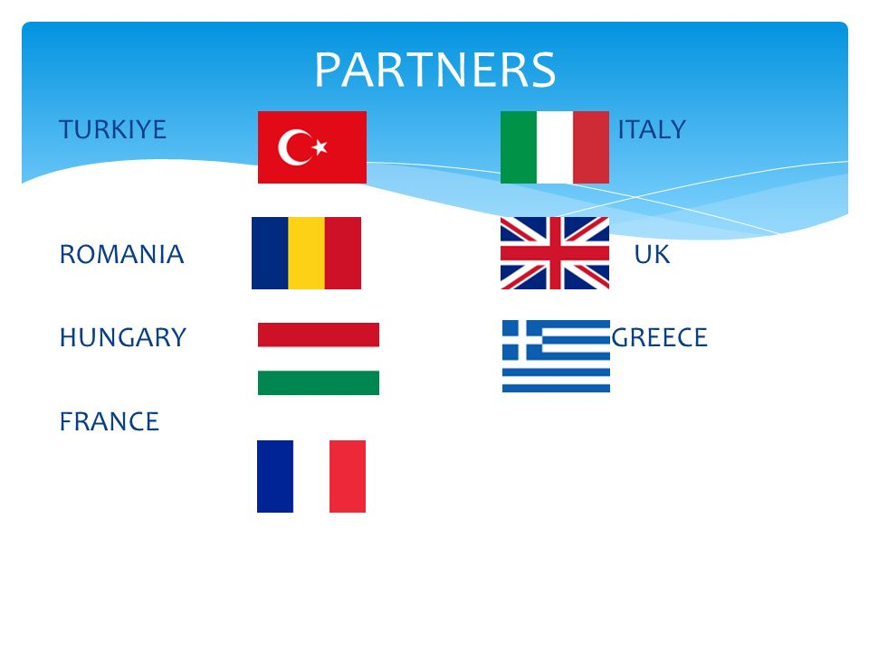 PARTNERS TURKIYE ITALY.