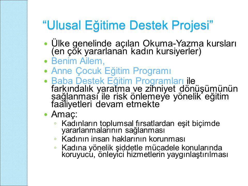 Ulusal Eğitime Destek Projesi