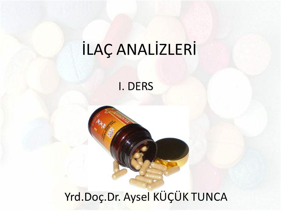 Yrd.Doç.Dr. Aysel KÜÇÜK TUNCA
