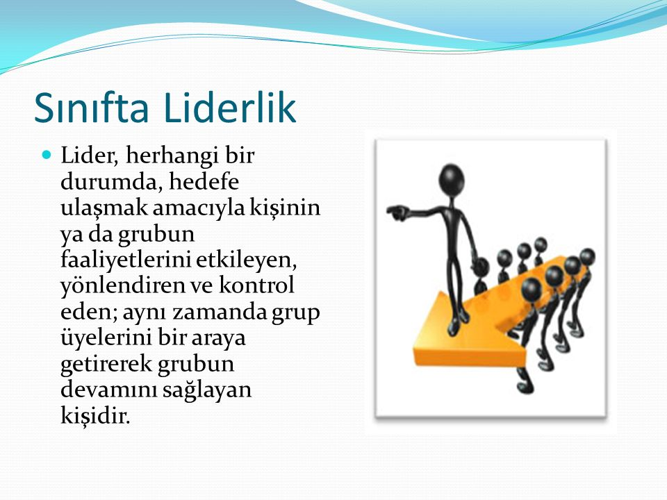 Sınıfta Liderlik