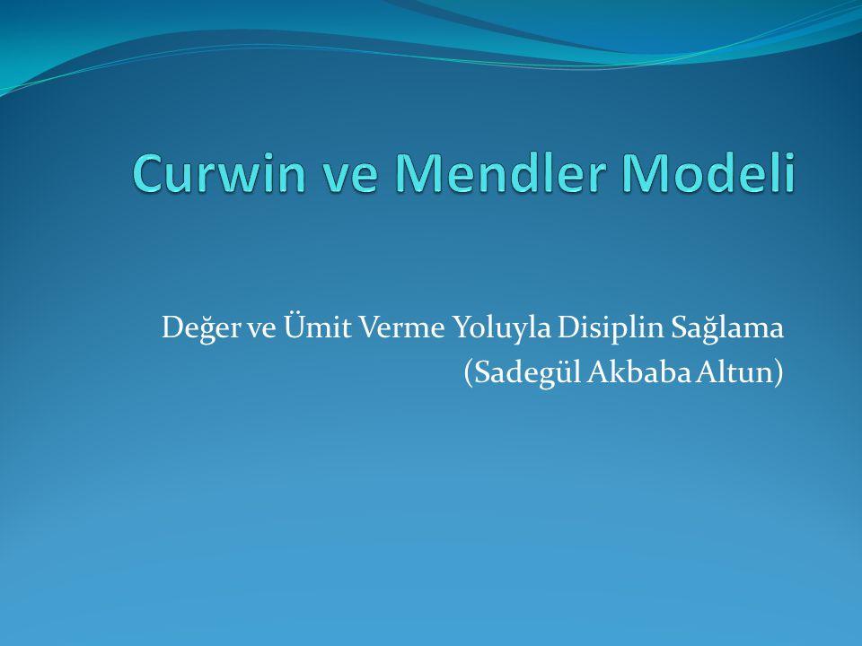 Curwin ve Mendler Modeli