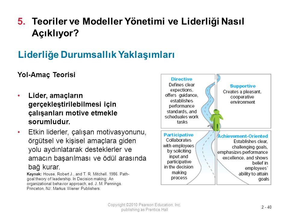 Teoriler ve Modeller Yönetimi ve Liderliği Nasıl Açıklıyor