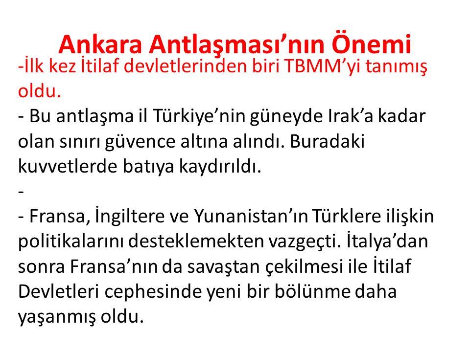 Ankara Antlaşması'nın Önemi