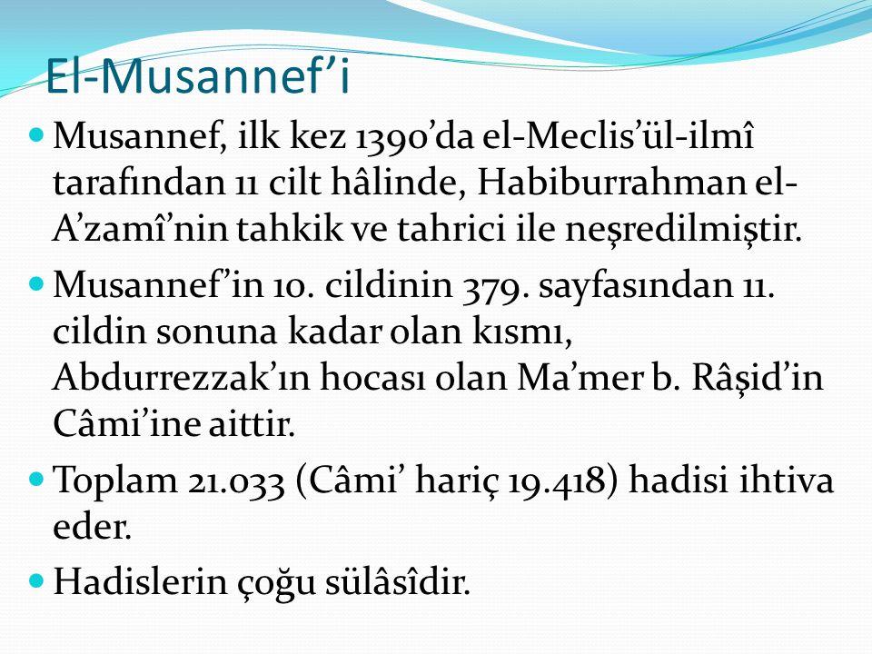 El-Musannef'i
