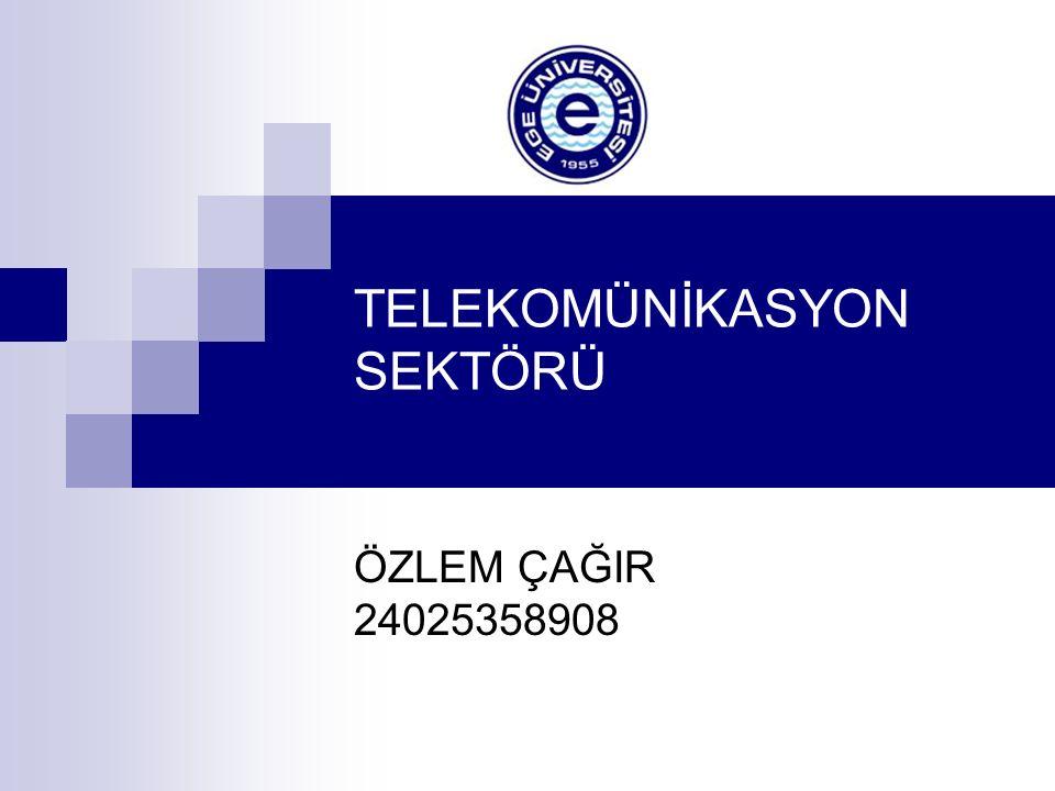 TELEKOMÜNİKASYON SEKTÖRÜ
