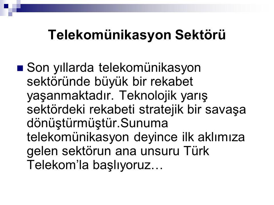 Telekomünikasyon Sektörü
