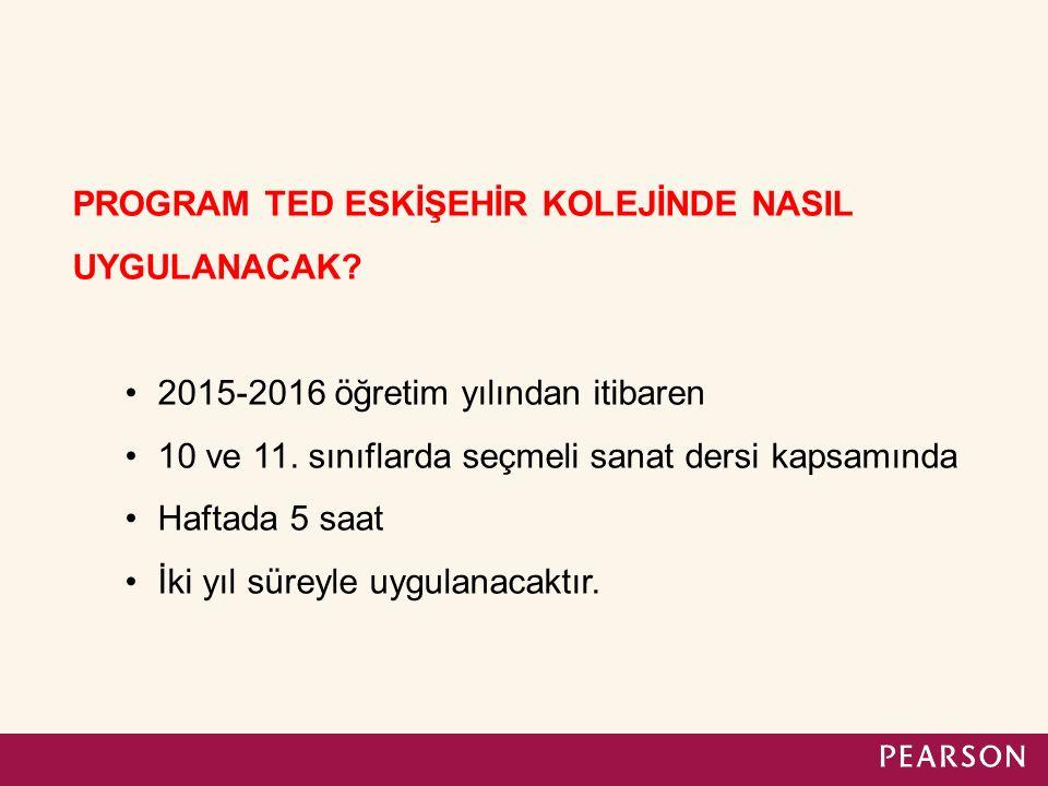 TED ESKİŞEHİR KOLEJİ ÖĞRENCİLERİ BU PROGRAMA NEDEN KAYIT OLMALIDIR