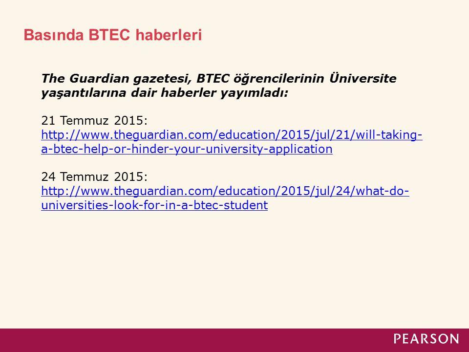 BTEC - Ücretler Level 1 Social Media – 7. sınıf