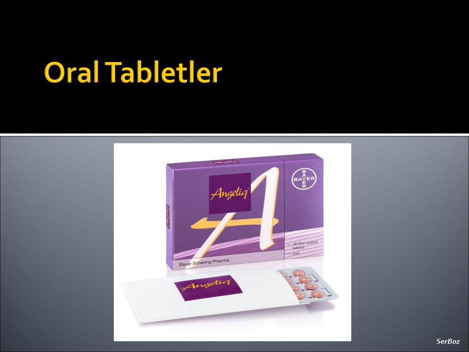 Oral Tabletler SerBoz