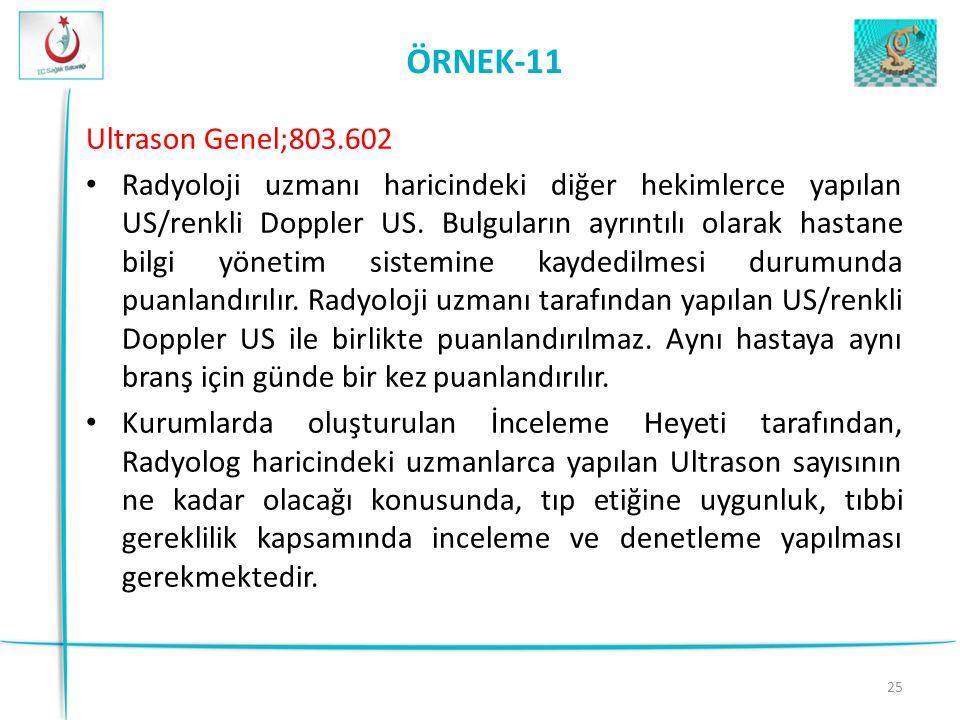 ÖRNEK-11 Ultrason Genel;803.602