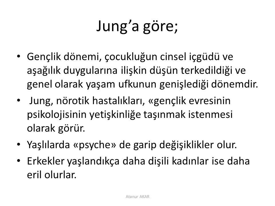 Jung'a göre;