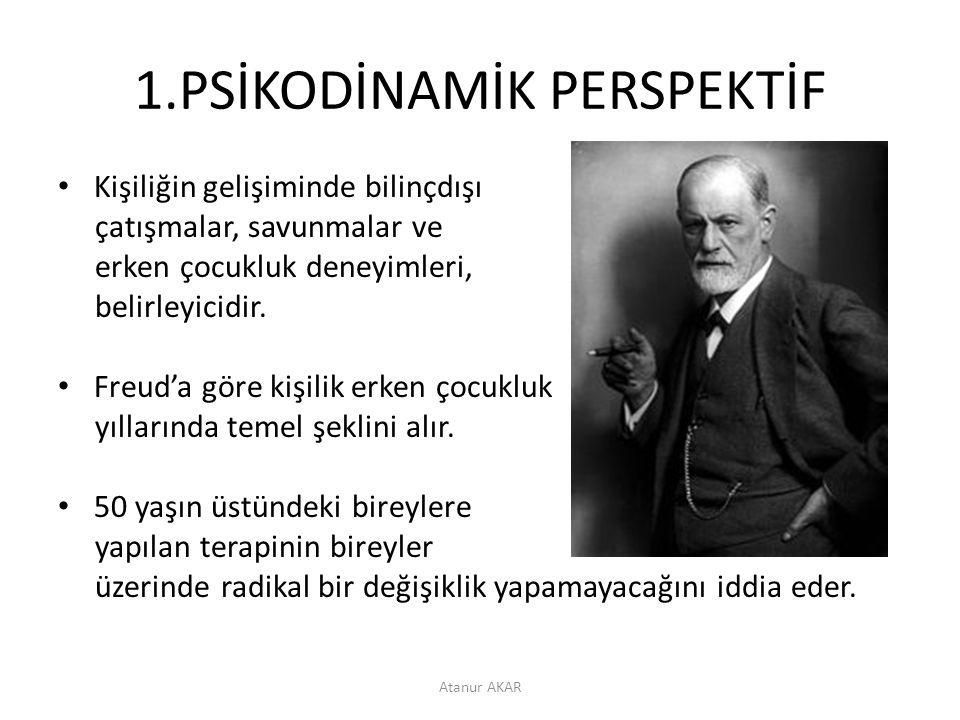1.PSİKODİNAMİK PERSPEKTİF