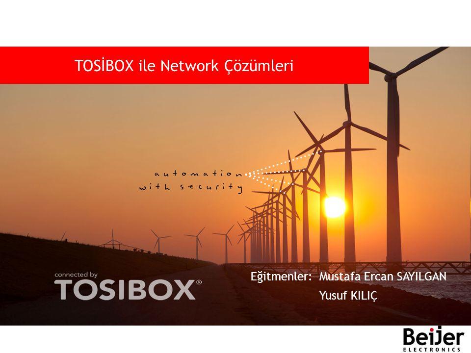TOSİBOX ile Network Çözümleri