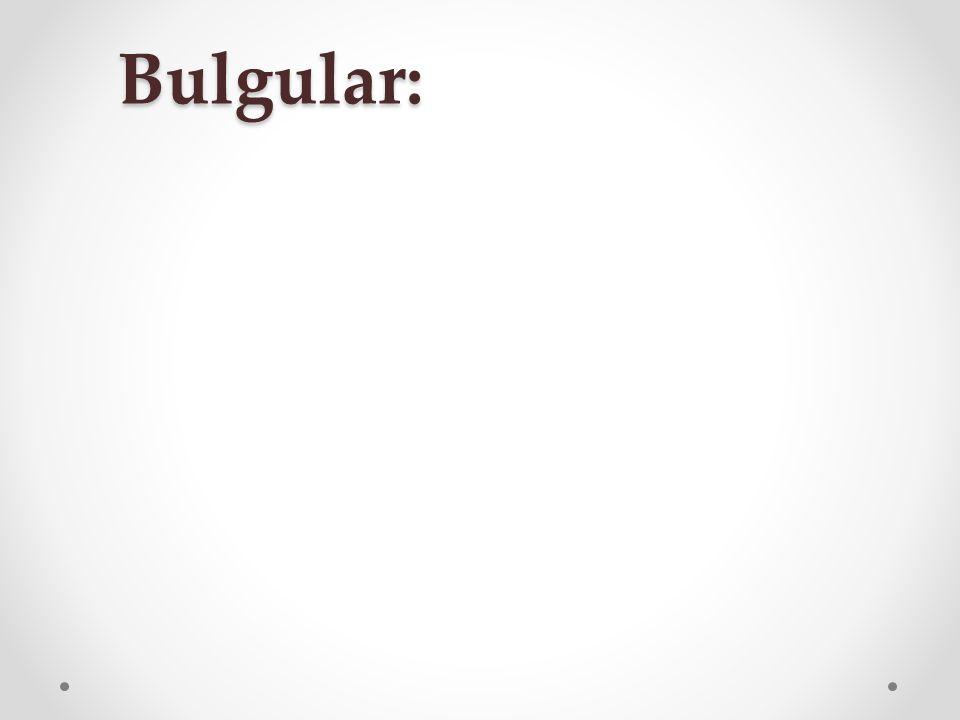 Bulgular: