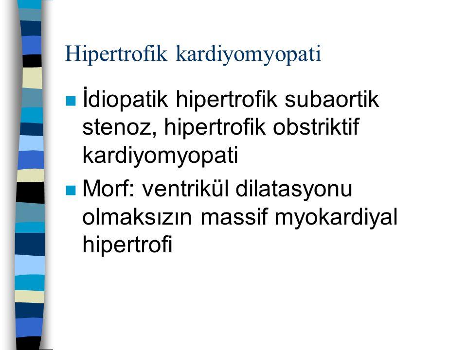 Hipertrofik kardiyomyopati