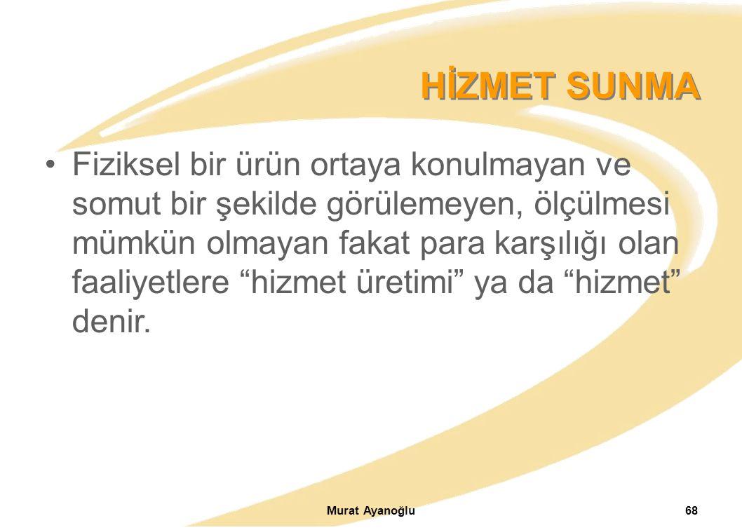 HİZMET SUNMA