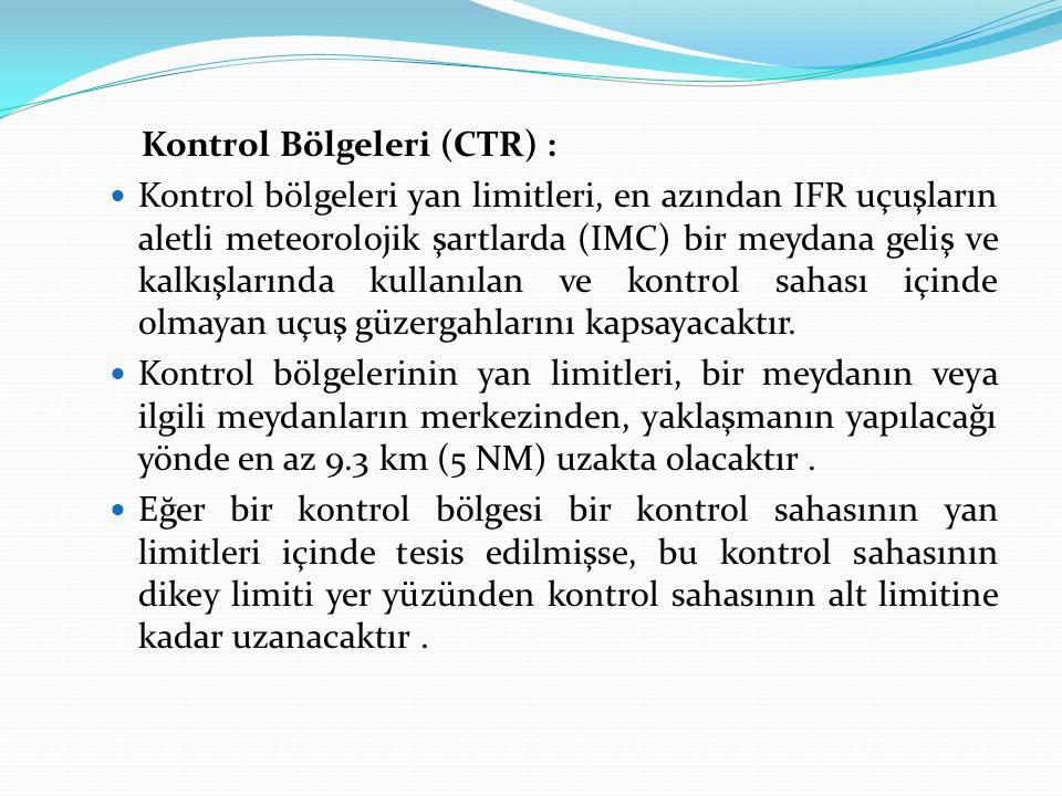 Kontrol Bölgeleri (CTR) :