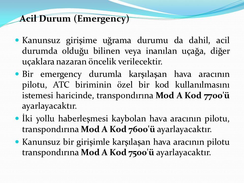 Acil Durum (Emergency)