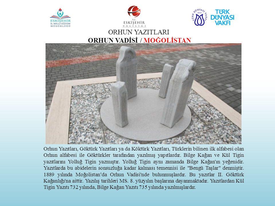 ORHUN VADİSİ / MOĞOLİSTAN