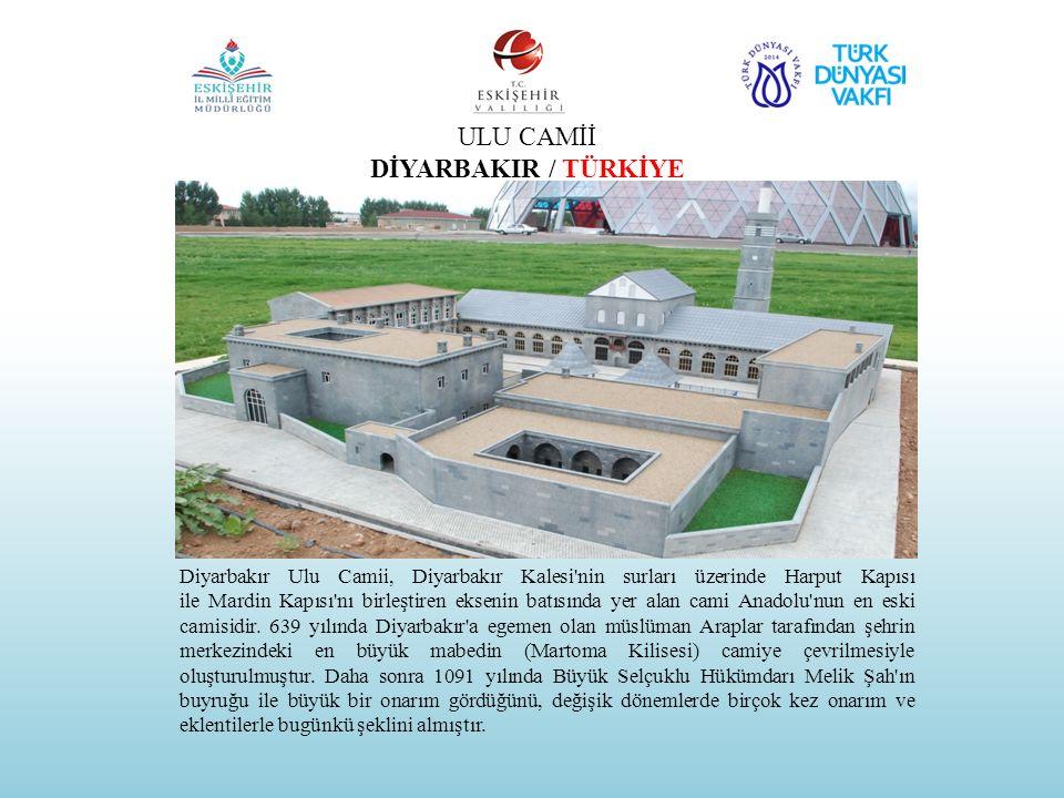 ULU CAMİİ DİYARBAKIR / TÜRKİYE