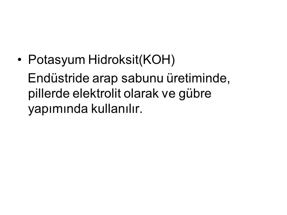 Potasyum Hidroksit(KOH)