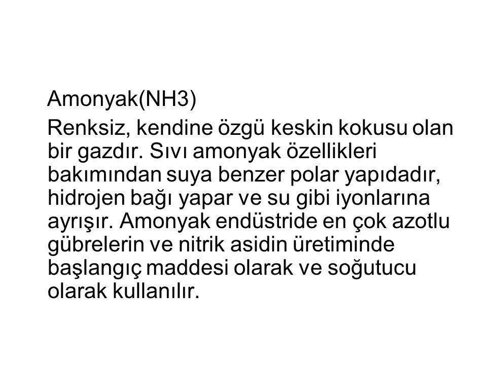 Amonyak(NH3)