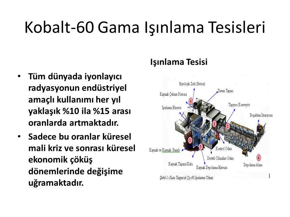 Kobalt-60 Gama Işınlama Tesisleri