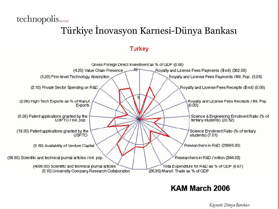 Türkiye İnovasyon Karnesi-Dünya Bankası