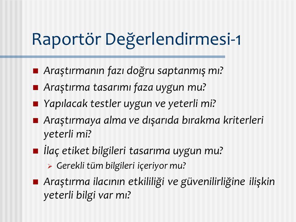 Raportör Değerlendirmesi-1