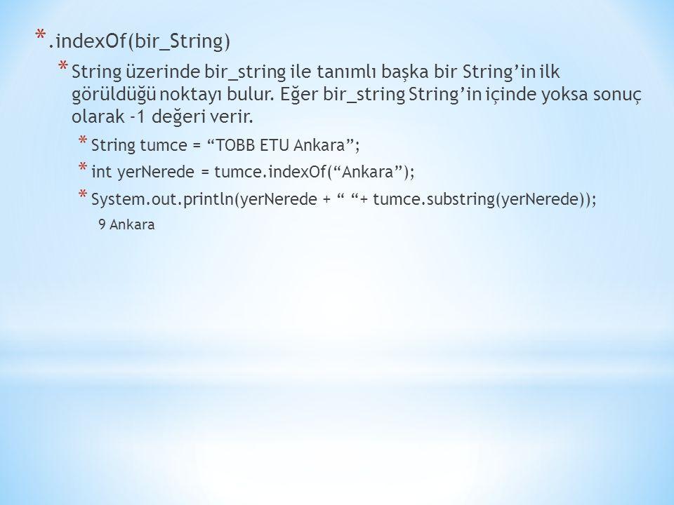 .indexOf(bir_String)