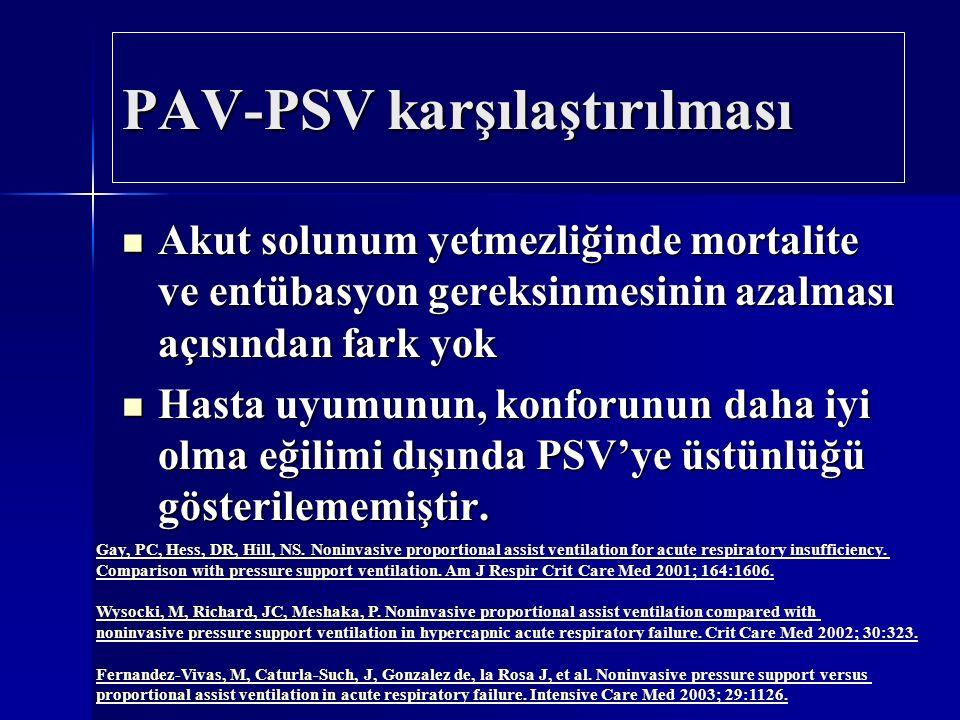 PAV-PSV karşılaştırılması