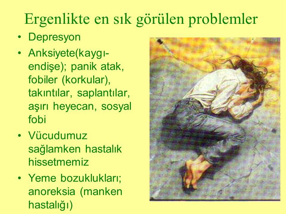 Ergenlikte en sık görülen problemler