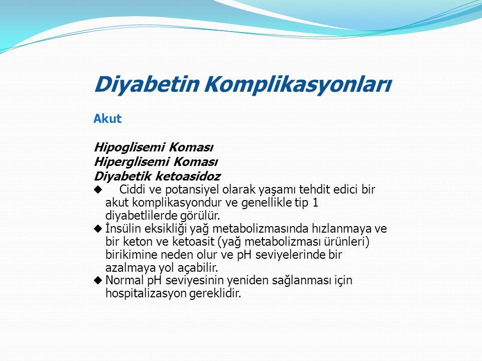 Diyabetin Komplikasyonları