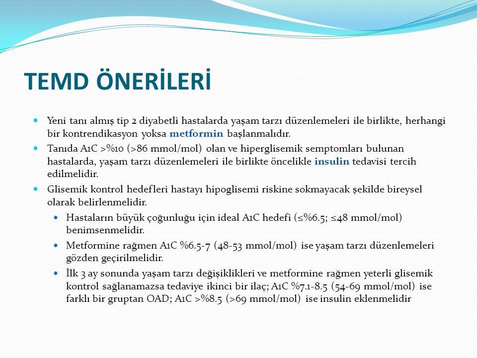 TEMD ÖNERİLERİ
