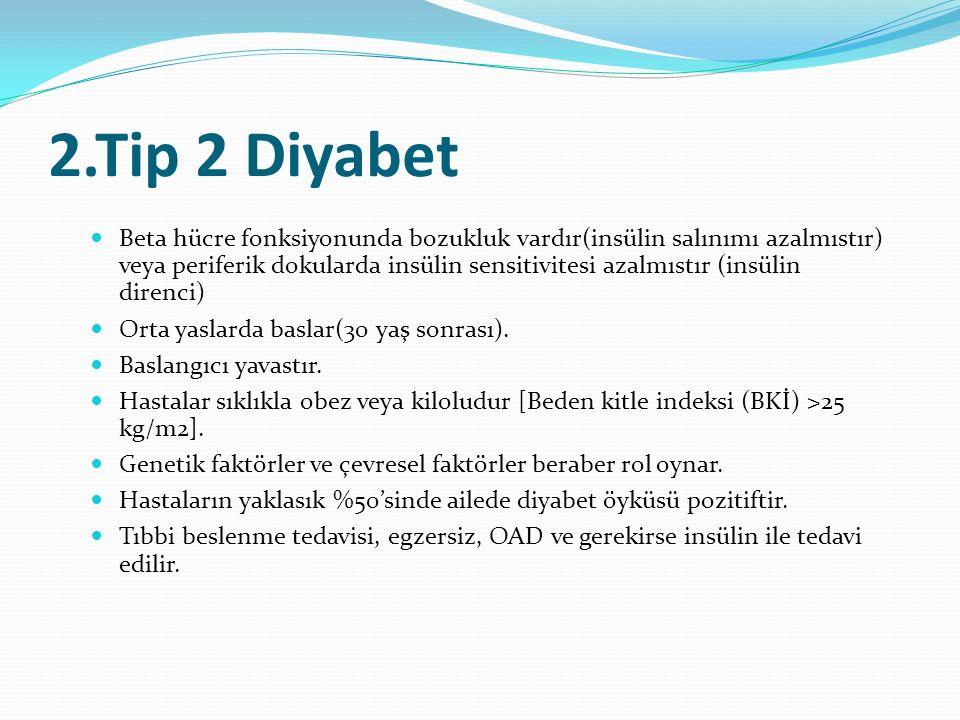 2.Tip 2 Diyabet