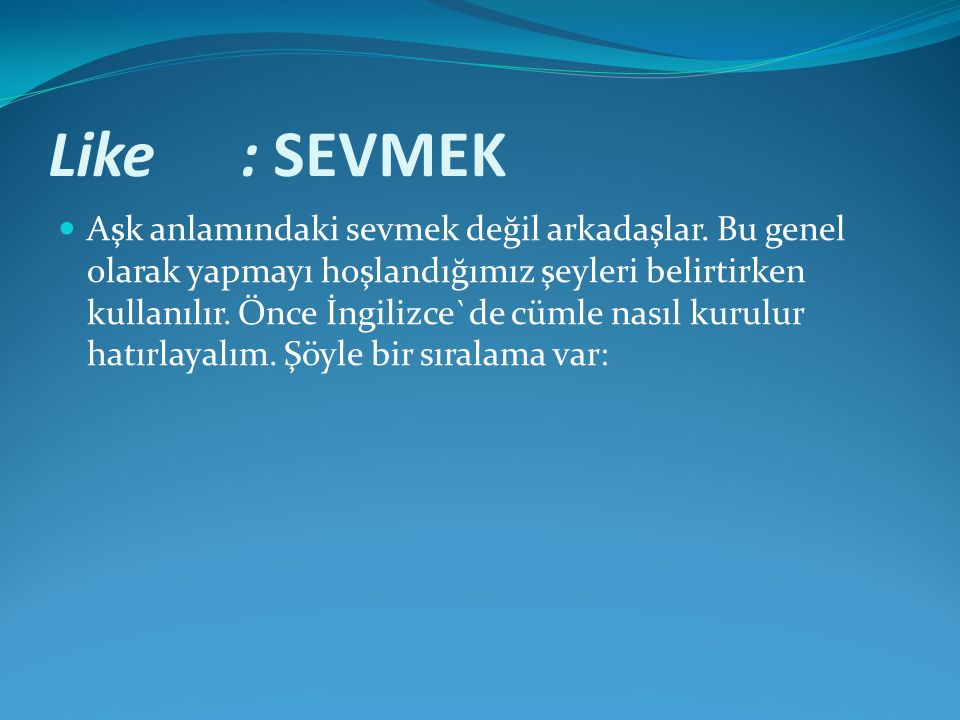 Like : SEVMEK