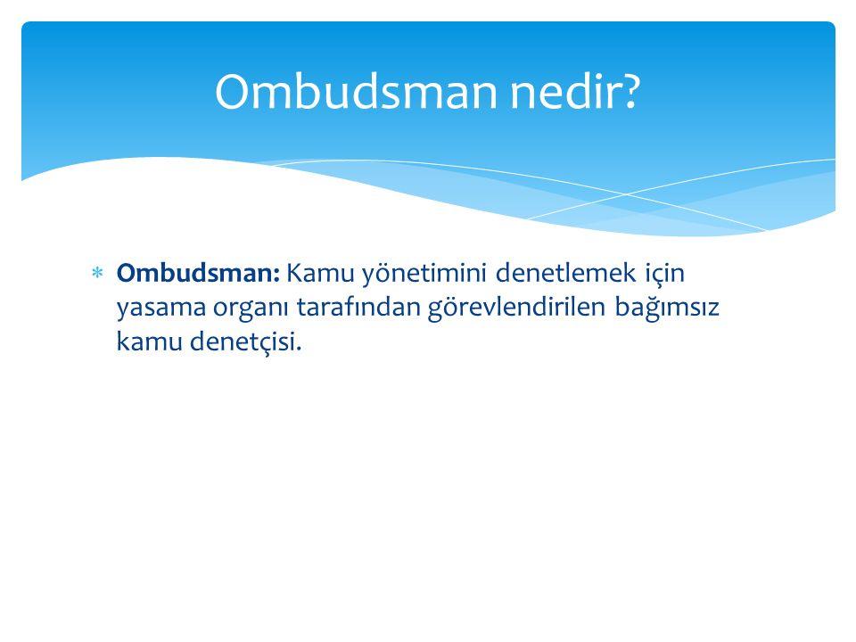 Ombudsman nedir.
