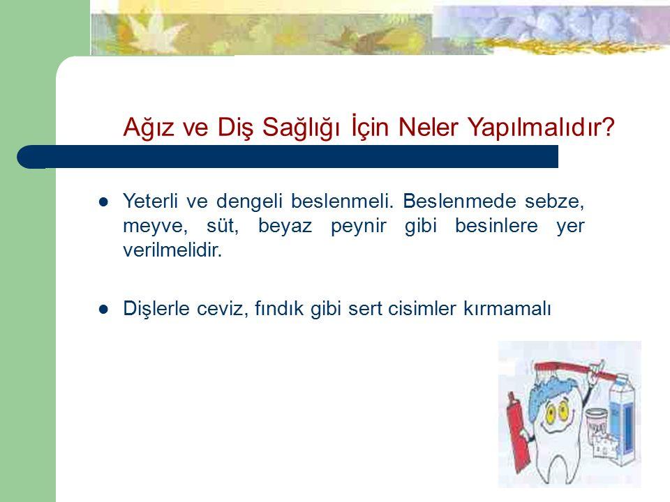 Ağız ve Diş Sağlığı İçin Neler Yapılmalıdır