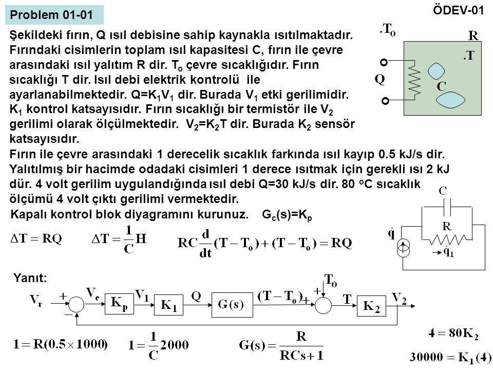 ÖDEV-01 Problem 01-01. o.