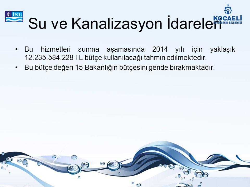 Su ve Kanalizasyon İdareleri