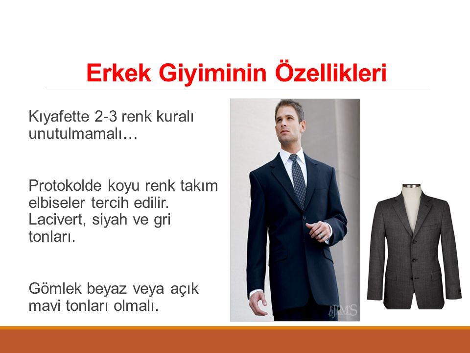 Erkek Giyiminin Özellikleri