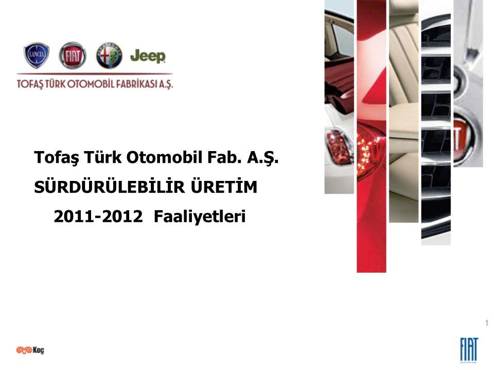 Tofaş Türk Otomobil Fab. A.Ş. SÜRDÜRÜLEBİLİR ÜRETİM