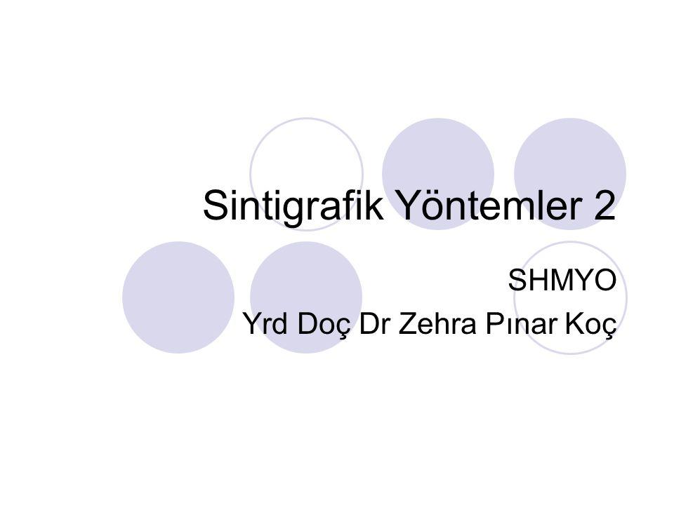 Sintigrafik Yöntemler 2