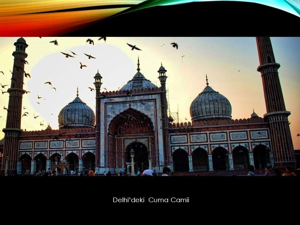 Delhi'deki Cuma Camii