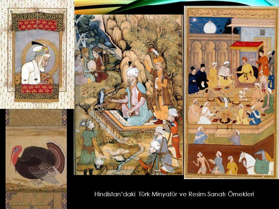 Hindistan'daki Türk Minyatür ve Resim Sanatı Örnekleri