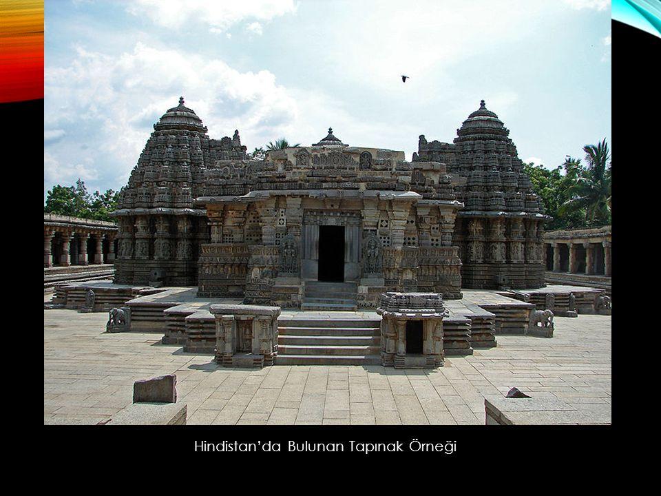 Hindistan'da Bulunan Tapınak Örneği