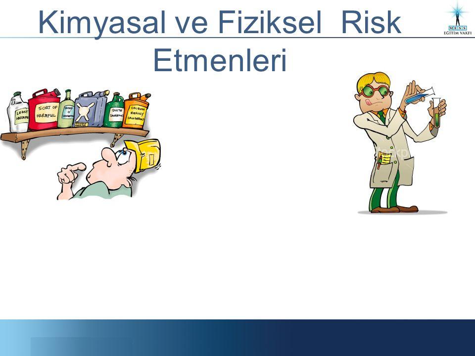Kimyasal ve Fiziksel Risk Etmenleri